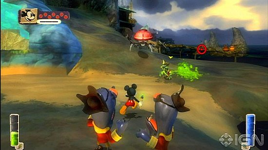 Photos of Epic Mickey Screenshots