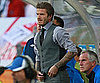 Slide Picture of David Beckham at England vs Slovenia World Cup Game