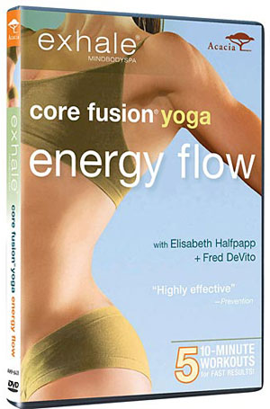 Review of Exhale Core Fusion Yoga Energy Flow