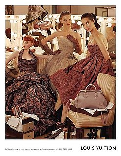 Louis Vuitton's Fall 2010 Campaign Features Three Supermodels Born in Three Different Decades