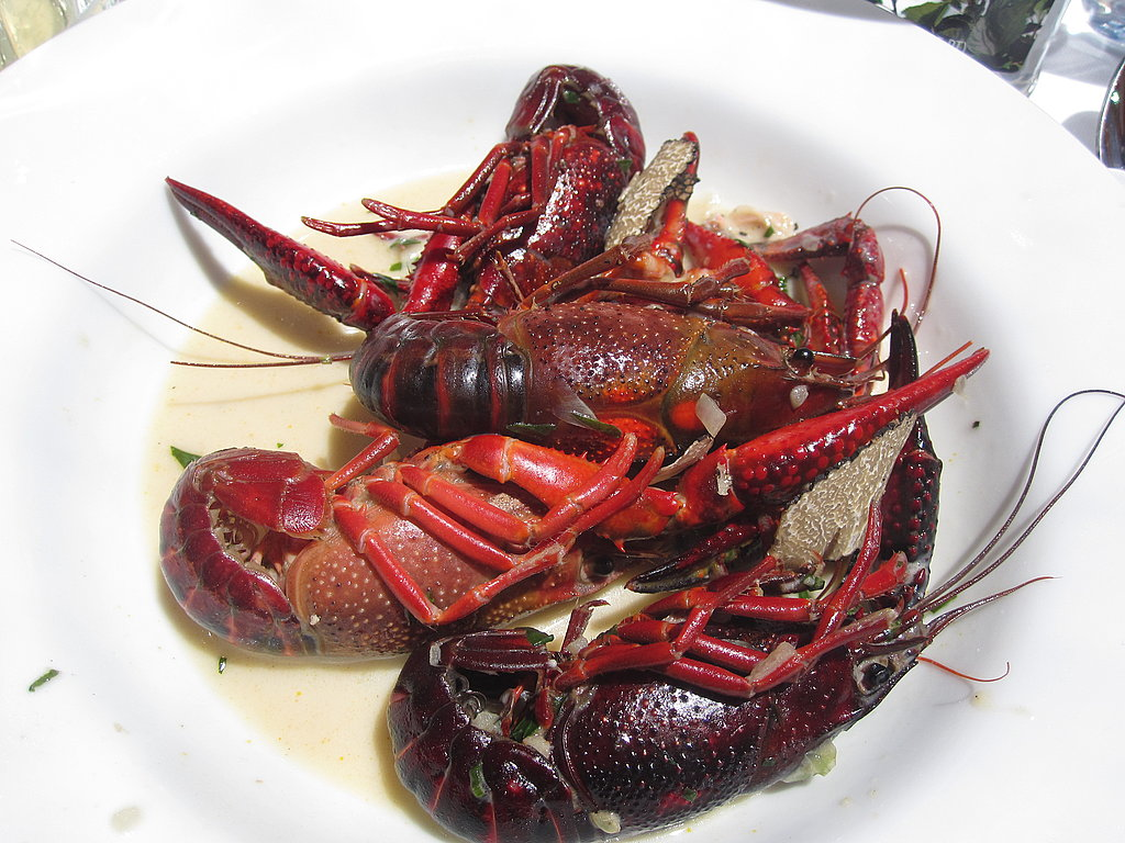 The third course, a French crawfish boil with cream, tarragon, and fresh truffle, was messy. However, I didn't mind, I enjoyed cracking the tails open and eating the succulent meat.