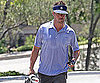 Slide Picture of Josh Duhamel at Golf Course in LA