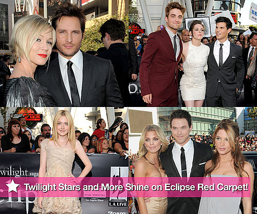 Pictures of Robert Pattinson, Kristen Stewart, and Taylor Lautner at the Eclipse Premiere