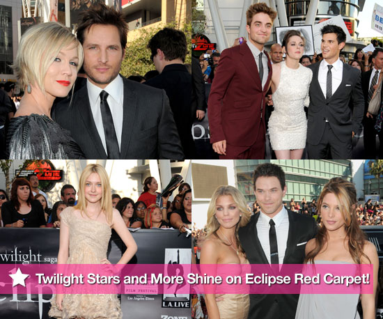 Twilight Stars and More Shine on Eclipse Red Carpet!