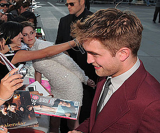 Slide Picture of Robert Pattinson Kristen Stewart at Eclipse Premiere