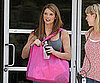 Slide Picture of Ashley Greene Leaving E in LA