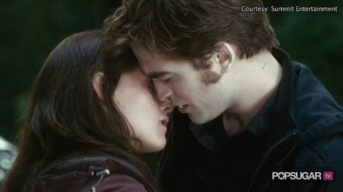 Exclusive Eclipse clip of Edward Kissing Bella as Jacob Watches On