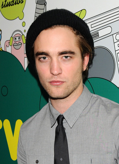 Robert Pattinson in November 2008: Taping of MTV TRL