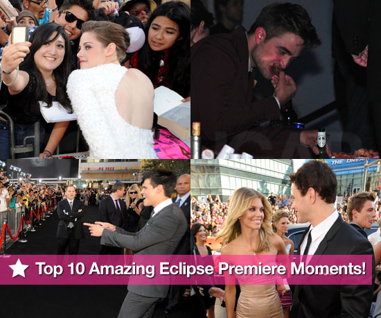 PopSugar's Top 10 Amazing Eclipse Premiere Moments!