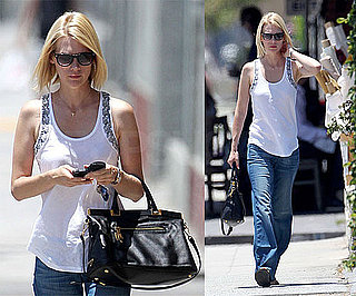 Pictures of January Jones Shopping in Hollywood 2010-06-25 14:00:00