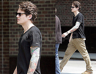 Pictures of John Mayer Walking Around His Neighborhood in NYC