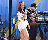 Slide Picture of Alicia Keys Performing on Good Morning America Pregnant