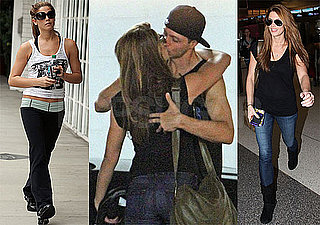 Pictures of Ashley Greene, Xavier Samuel, and Taylor Lautner Heading to England 2010-06-27 10:30:30