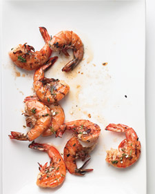 Lemon-Herb Grilled Shrimp