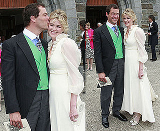 Pictures of The Wire's Dominic West Wedding Marrying Catherine Fitzgerald in Dublin