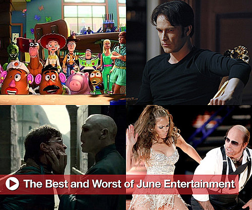Best and Worst of Movies, TV, and Music in June