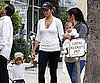 Slide Picture of Camila Alves With Levi and Vida in LA