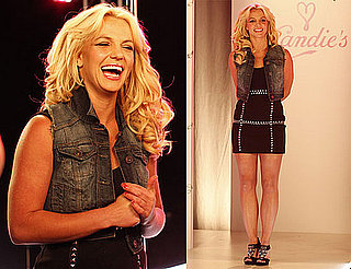 Pictures of Britney Spears With Her New Candie's Collection
