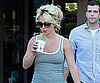 Slide Picture of Britney Spears Drinking Starbucks in LA
