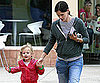 Slide Picture of Jennifer Garner and Violet Affleck in Santa Monica