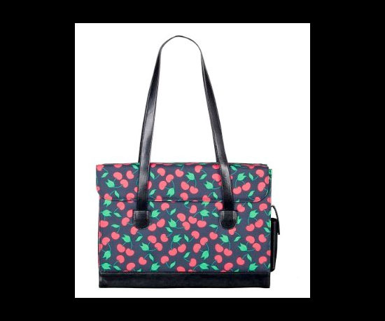 Bueno Cherries Laptop Bag ($25)