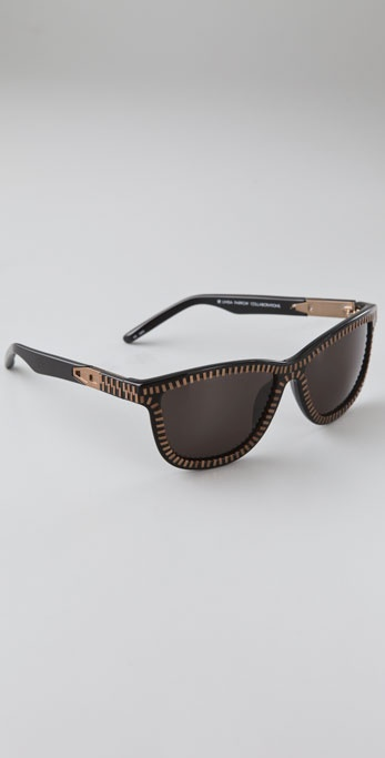 Alexander Wang Zipper Frame Glasses ($365)