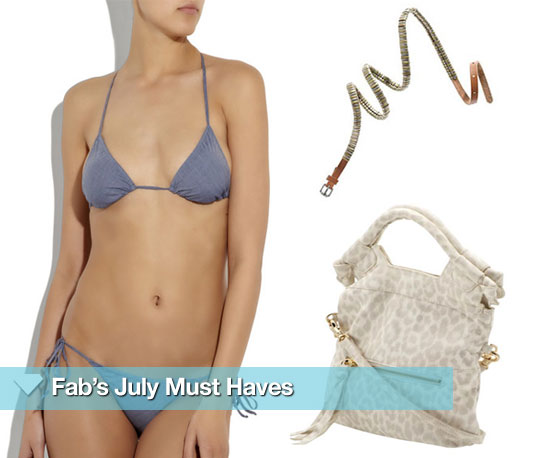 Fab's July Must Haves