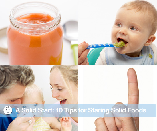 A Solid Start: 10 Physical Tips For Starting Solid Foods