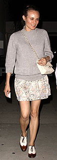 Diane Kruger Wears Chanel Bag and Oxfords in LA
