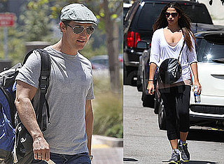 Pictures of Matthew McConaughey and Camila Alves Around LA