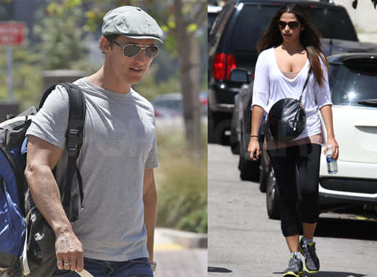 Pictures of Matthew McConaughey and Camila Alves