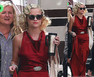 Reese Witherspoon on the Set of Water for Elephants