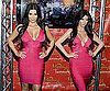 Slide Picture of Kim Kardashian and Wax Figure