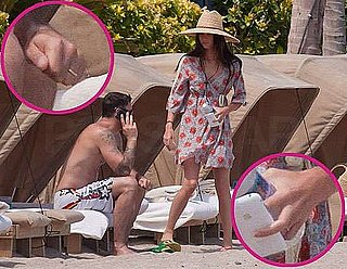 Pictures of Megan Fox Wearing Wedding Ring and Brian Austin Green's Wedding Ring After Ceremony in Hawaii