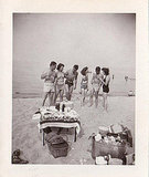 1948 Friends gathered on an unknown beach for a picnic. Source: Flickr User sflovestory