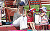 Pictures of Jennifer Garner, Violet Affleck and Seraphina Affleck 2010-07-05 20:43:46