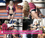 Pictures of LeAnn Rimes in a Bikini With Shirtless Eddie Cibrian