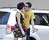 Slide Picture of Xavier Samuel with Shermine Shahrivar in NYC