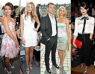 Blake Lively, Jessica Alba, Claire Danes, and More at Paris Fashion Week 2010-07-06 13:30:00