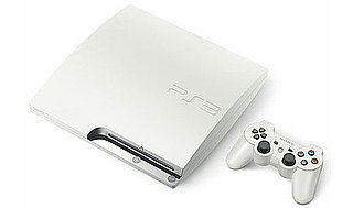 White PS3 Slim From Japan