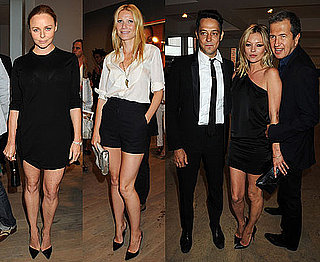 Kate Moss, Jamie Hince, Gwyneth Paltrow, Stella McCartney at Mario Testino Kate Who Exhibition 2010-07-06 16:30:50