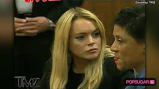 Video of Lindsay Lohan in Court and Getting Pulled Over