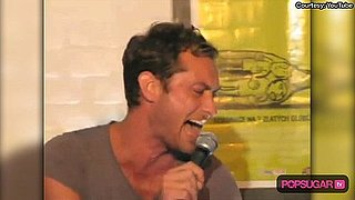Video of Jude Law Singing