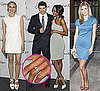 Pictures of Zoe Saldana's Engagement Ring With Kellan Lutz, AnnaLynne McCord, Diane Kruger at Calvin Klein event