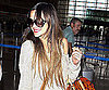 Slide Picture of Ashlee Simpson at LAX