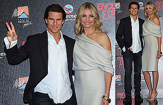 Pictures of Tom Cruise and Cameron Diaz Promoting Knight and Day in Mexico City