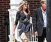 Slide Picture of Jennifer Aniston Leaving a Meeting in LA