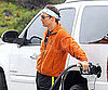 Slide Picture of Matthew McConaughey Pumping Gas in Malibu