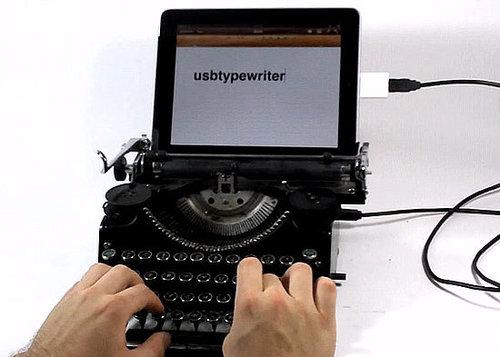 Is This iPad Typewriter Real or Fake?