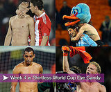 Pictures of Shirtless Football Players From Week Four of World Cup